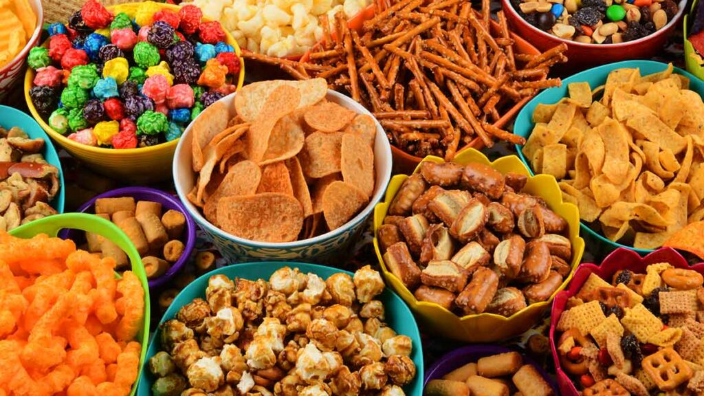 Ultra-processed foods are the foods you should avoid at all costs.  This can be difficult when partying or entertaining, but it is one of the best ways to improving your health.